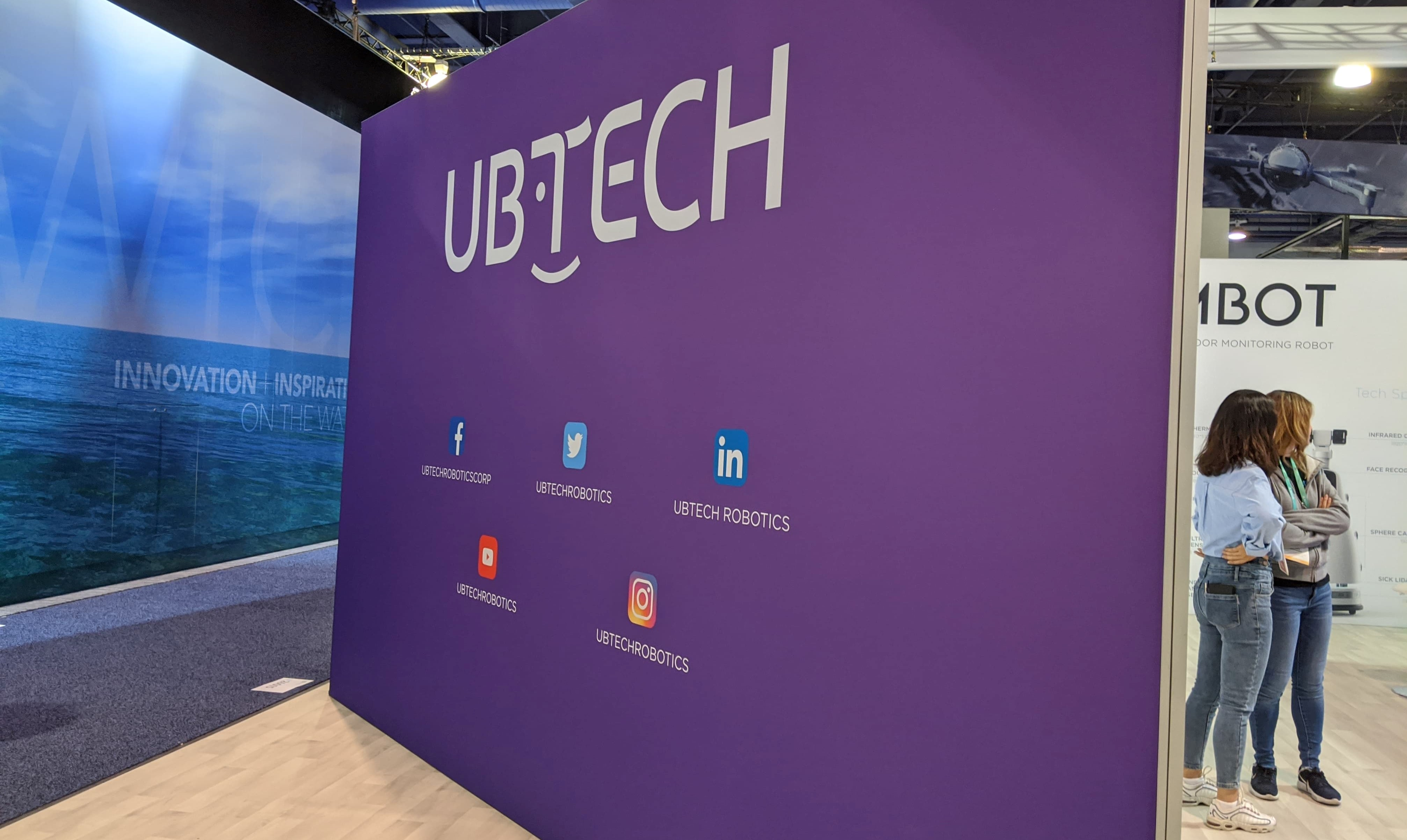 UBTECH Booth